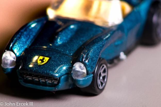 For this one I messed around with the luminance and saturation to make the blue color of the toy car pop. I then added a gradient filter bringing lighting up certain areas of the subject. I then messed with the shadows to make them more distinguished. Taken on a Canon T5 Rebel.